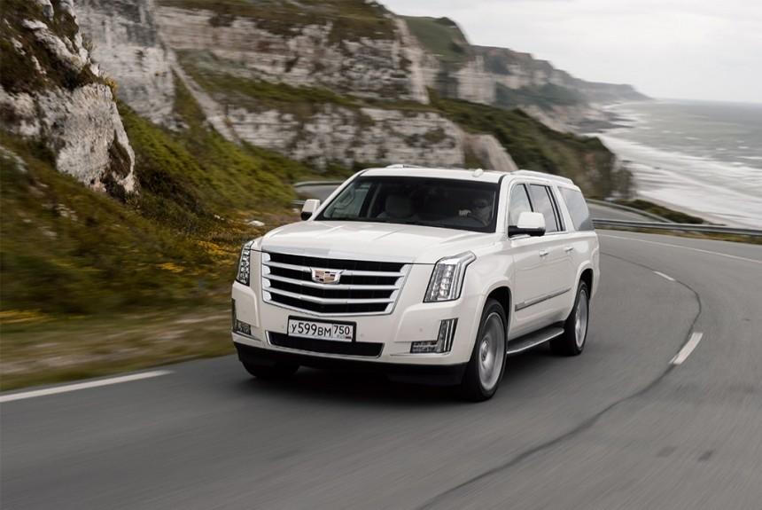 Цены на новый Cadillac Escalade в России начнутся с 3,5 млн рублей 81