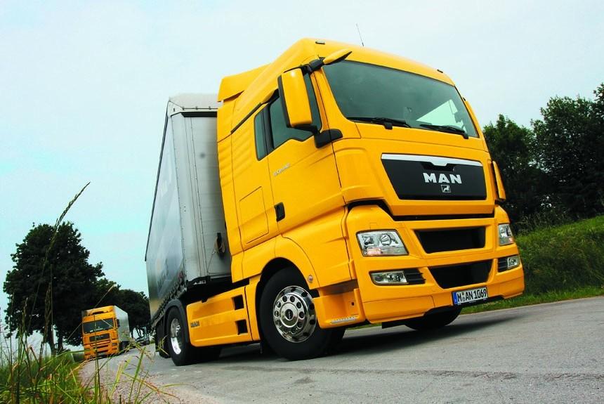 Испытываем в Германии мановские тягач и самосвал. С какими трудностями  сталкиваются российские покупатели новых машин  61480be8d51