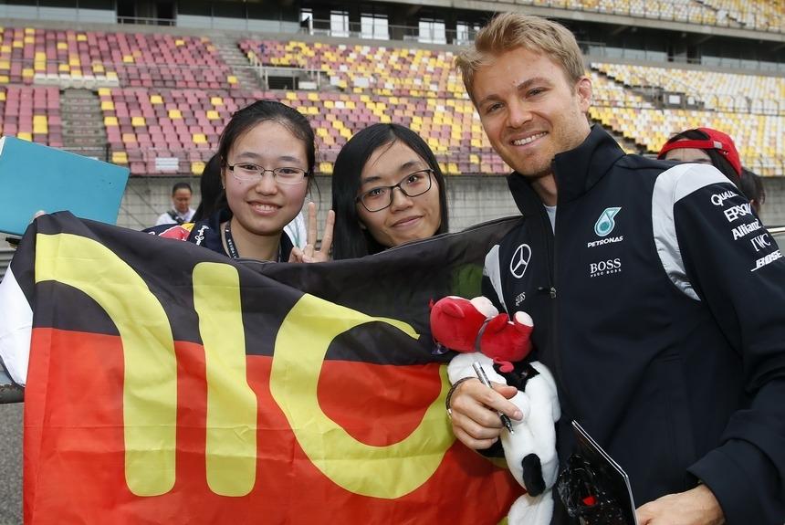 Феттель недоволен маневром Квята настарте Гран-при Китая