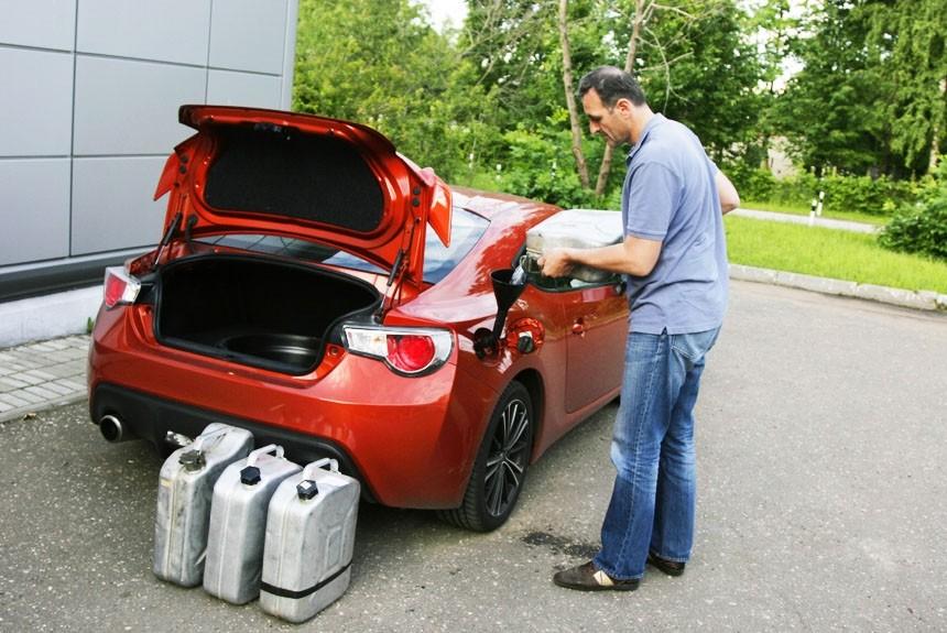 Налог на продажу бензина