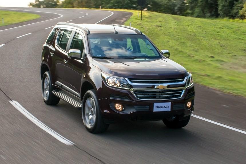 Новый Chevrolet Trailblazer появится в июне