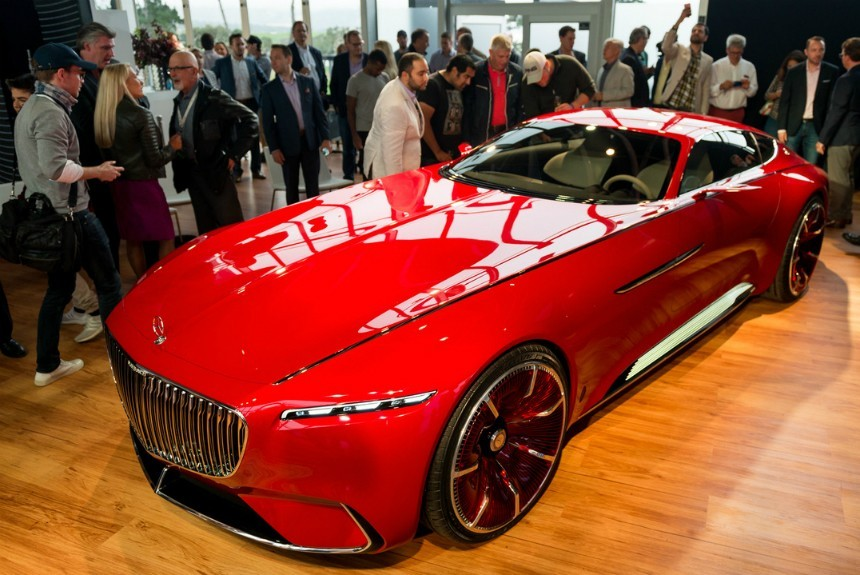 Vision Mercedes-Maybach 6 предстал во плоти