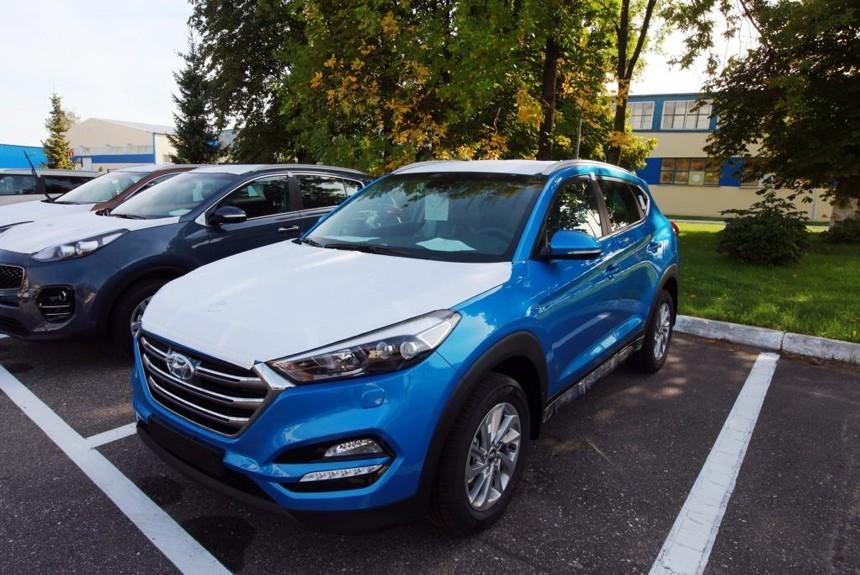 В Калининграде начали сборку паркетников Hyundai Tucson