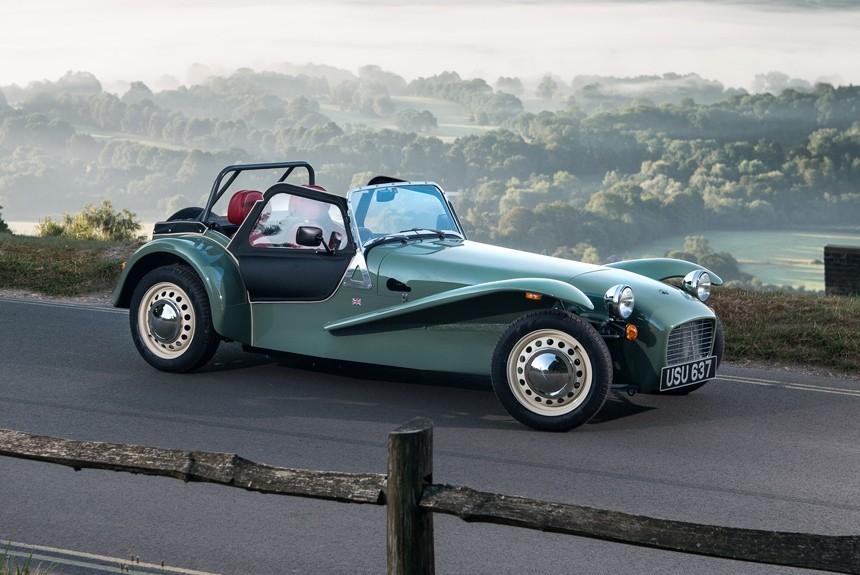 Caterham представила модель Seven Sprint