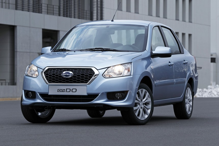 Седан Datsun on-DO обзавелся «автоматом» class=