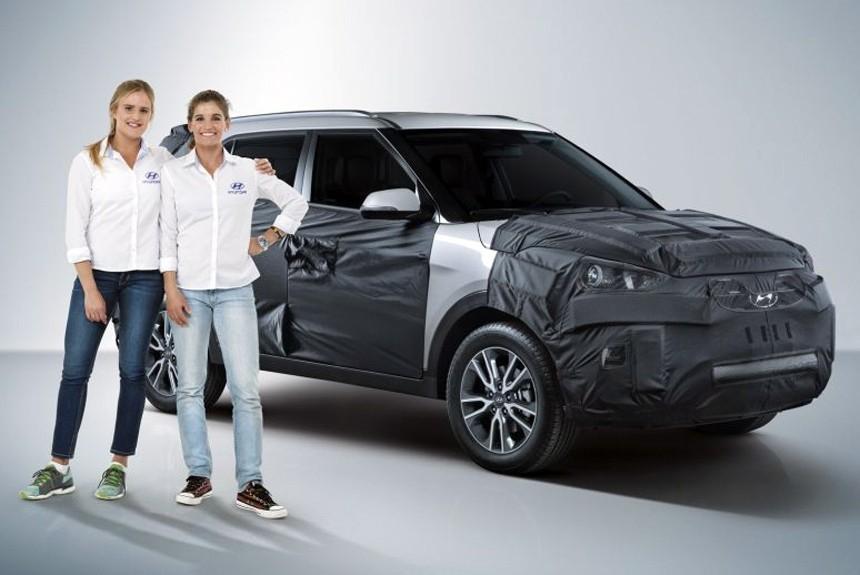 Hyundai Creta готовится к рестайлингу