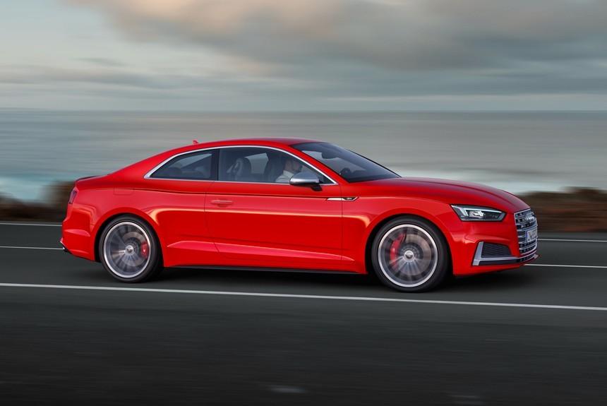 В России открыт прием заказов на купе Audi S5
