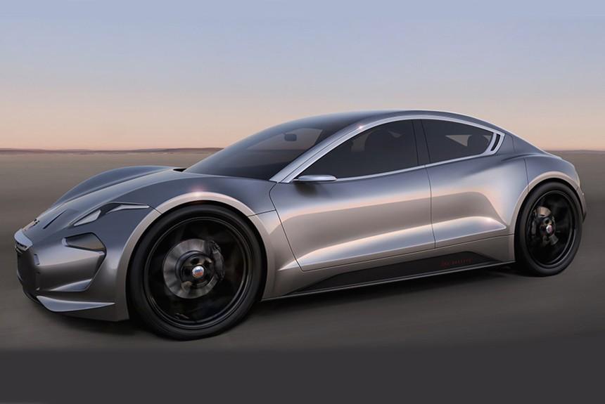 Революционный электромобиль Fisker EMotion: первые фото