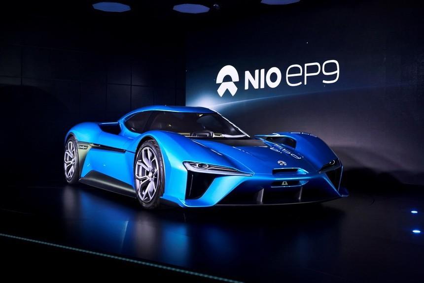 Компания NextEV представила электрокар Nio EP9 мощностью 1 мегаватт