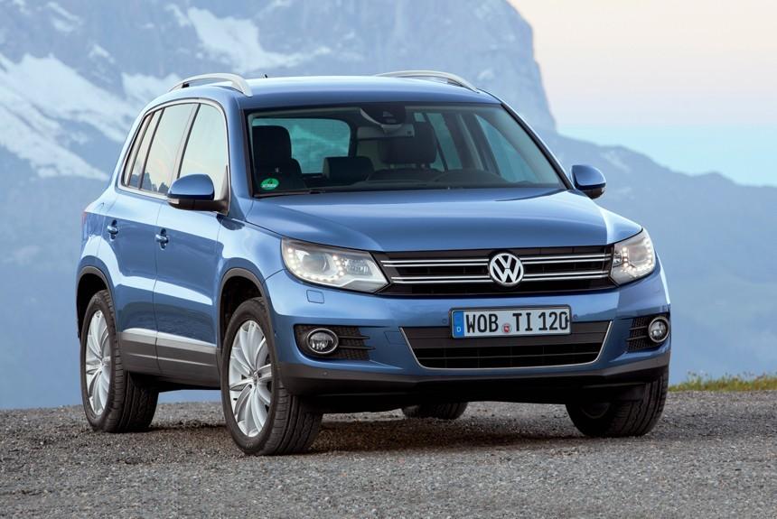 Названы цены икомплектации— Новый VW Tiguan