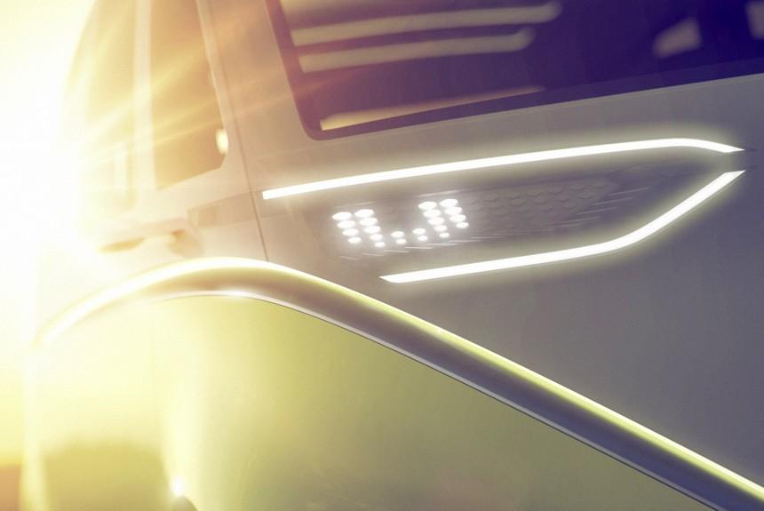 Volkswagen готовит ретровэн с электроприводом