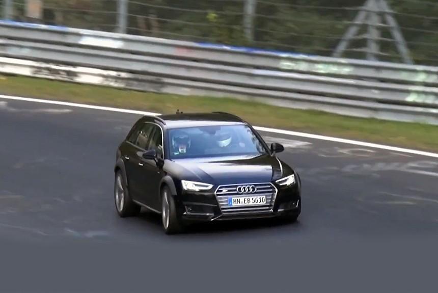 Под крышкой капота нового Ауди RS4 Avant будет трудится мотор от Порше