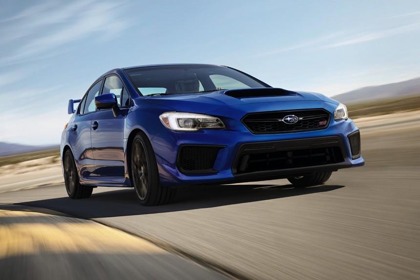Обновленные Subaru WRX и WRX STI больше электроники