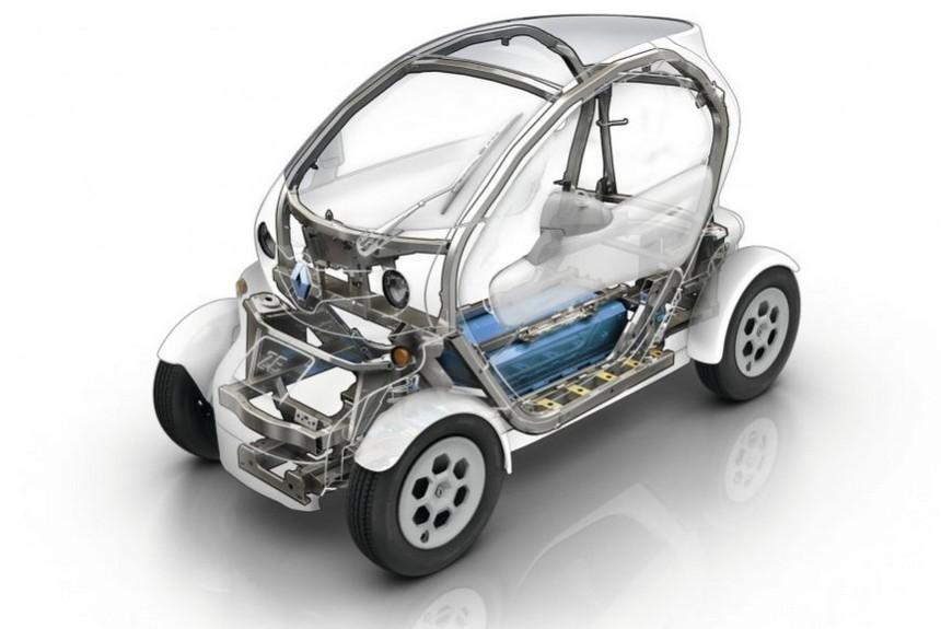 Компания Renault открыла патенты на электромобиль Twizy