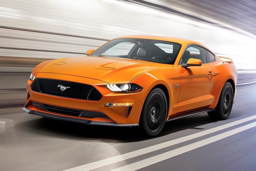 Форд рассекретил Mustang 2018 с10-ступенчатой коробкой навидео