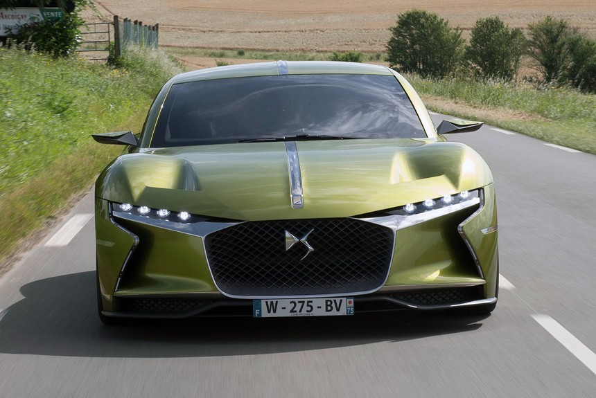 БрендDS в 2018 презентует новый спортивный автомобиль E-Tense