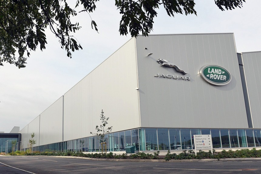 Завод Ягуар Лэнд Ровер два раза обокрали на4 млн долларов