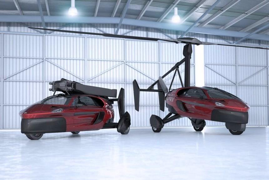 Летающий автомобиль PAL-V: открыт прием заказов