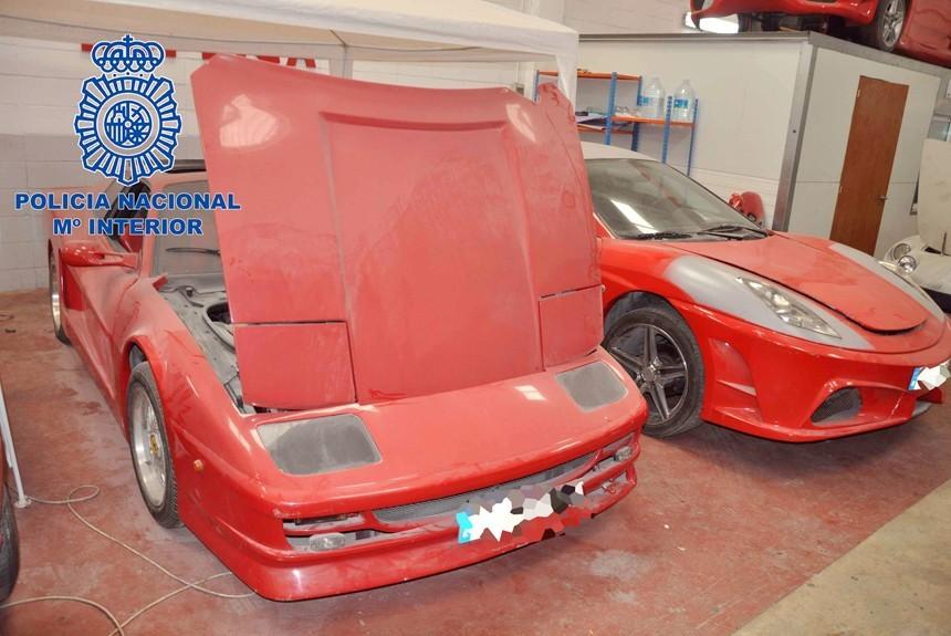ВИспании отыскали фабрику, выпускавшую поддельные спорткары Феррари иLamborghini