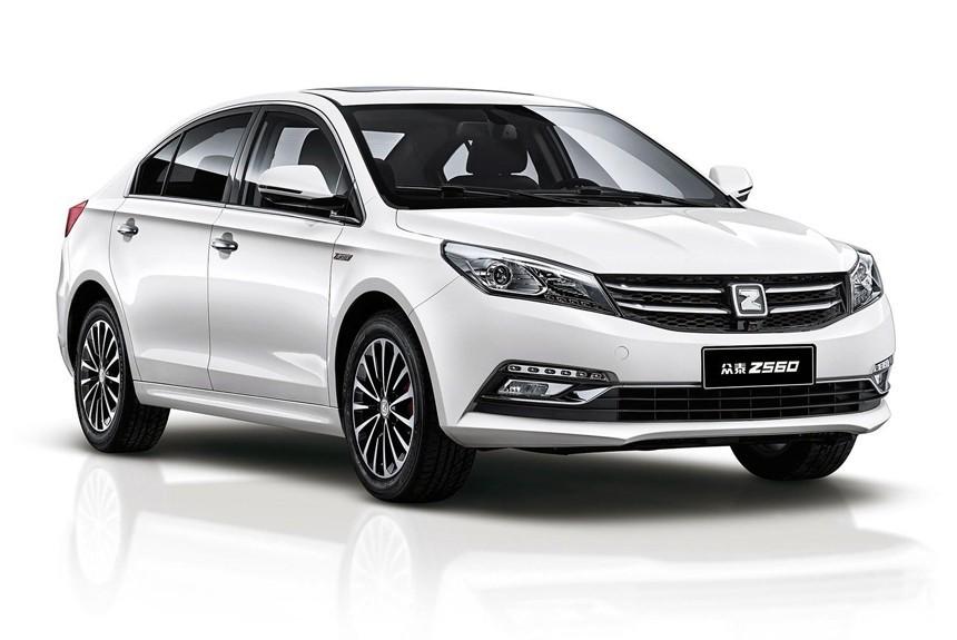 Новый седан Zotye Z560 презентовали производители в КНР