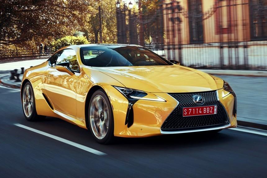 Объявлена российская цена спорткупе Lexus LC 500