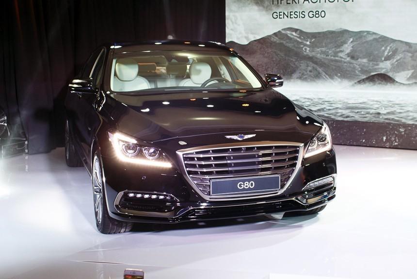 Hyundai Genesis G80 20172018 фото видео цена