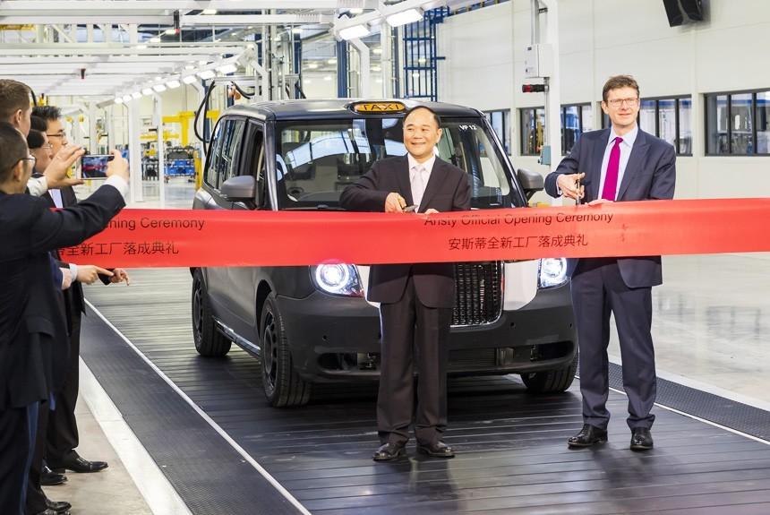 Geely запустила вВеликобритании завод попроизводству гибридных таксомоторов— КНР везет