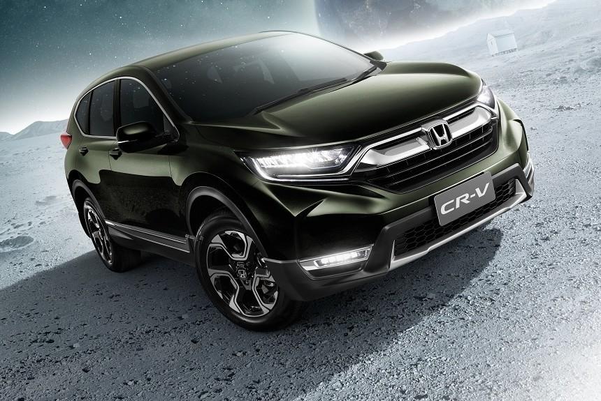 Кроссовер Хонда CR-V обзавелся 3-м рядом кресел— Тайский пассаж