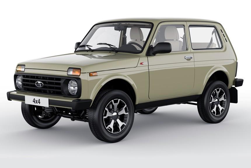 «АвтоВАЗ» раскрыл новые подробности об уникальной Lada 4x4 Anniversary