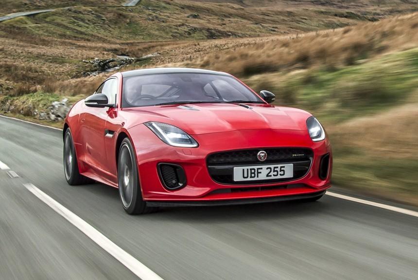 Jaguar F Type с турбочетверкой превратился в безобидного котенка