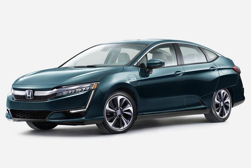 Семейство Honda Clarity пополнится гибридной иэлектрической версией