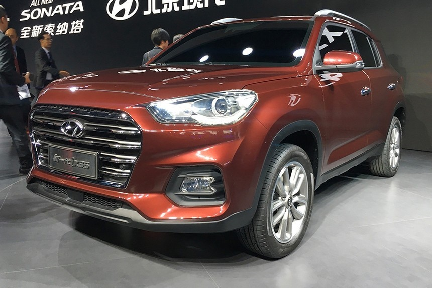Второе рождение кроссовера Hyundai ix35 просто добавь брутальности