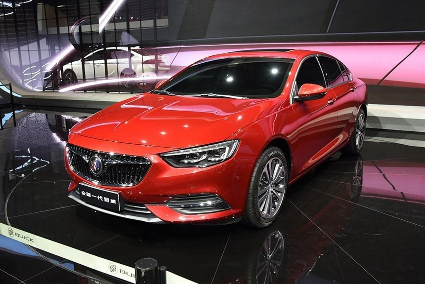 Китайский Buick Regal: новая Insignia с кузовом седан