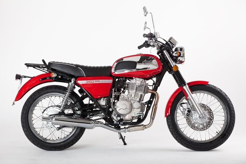 Возвращение легенды: мотокомпания «Ява» выпустила серию байков нового типа