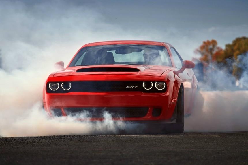 Dodge объявил стоимость своего нового Dodge Challenger SRT Demon