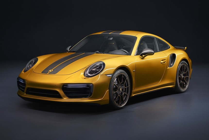 Порш представил самую сильную модификацию 911 Turbo S