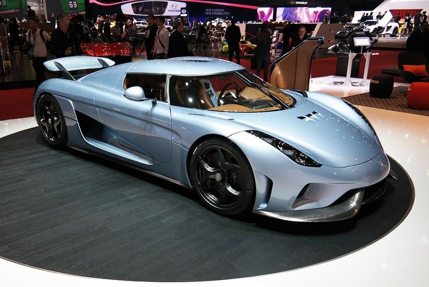 Компания Koenigsegg распродала все гиперкары Regera