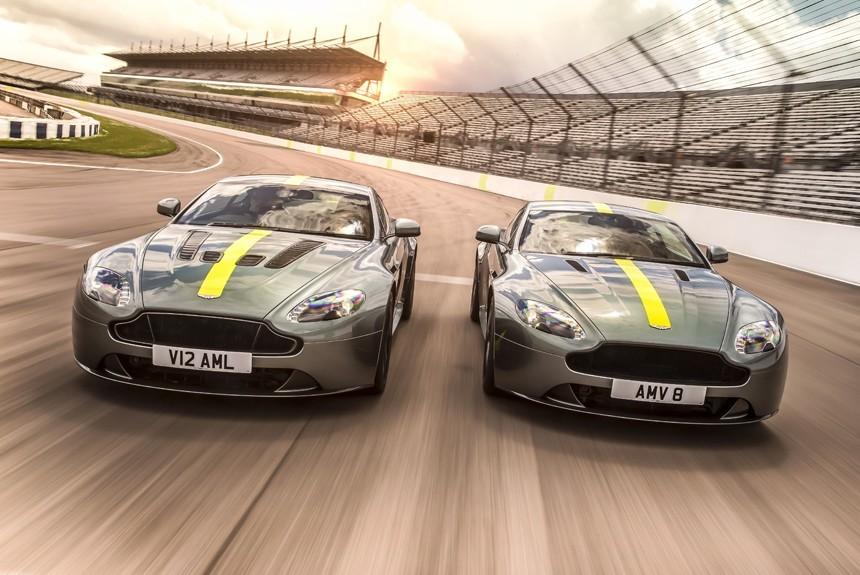 Тираж Aston Martin Vantage AMR ограничен 300 единицами
