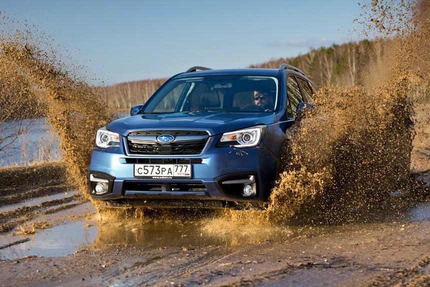 Subaru удерживает лидерство по выпуску полноприводных легковушек