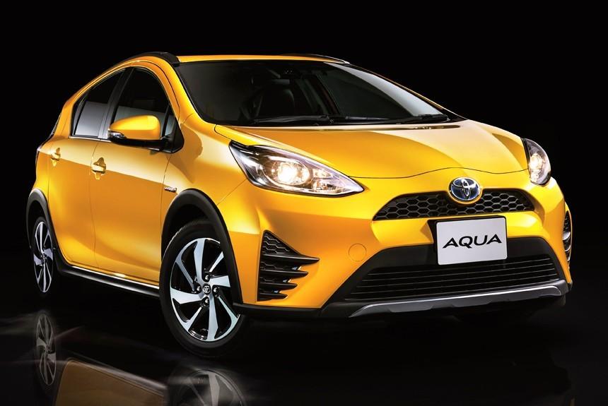 Компания Тоёта Motor Corporation презентовала улучшенный хэтчбек Aqua