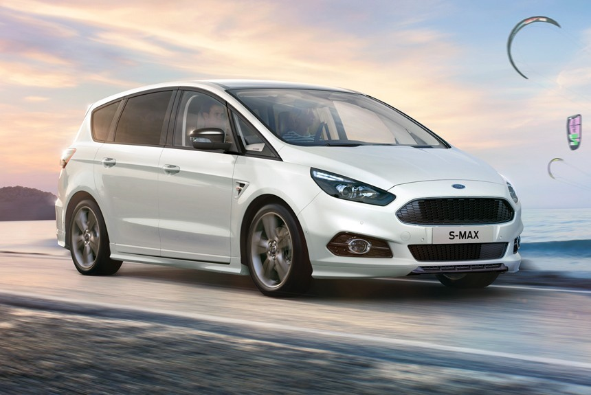 Компания Форд показала «спортивный» минивэн S-MAX