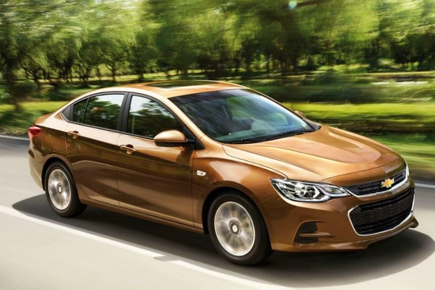 Chevrolet Cavalier выходит на международный рынок
