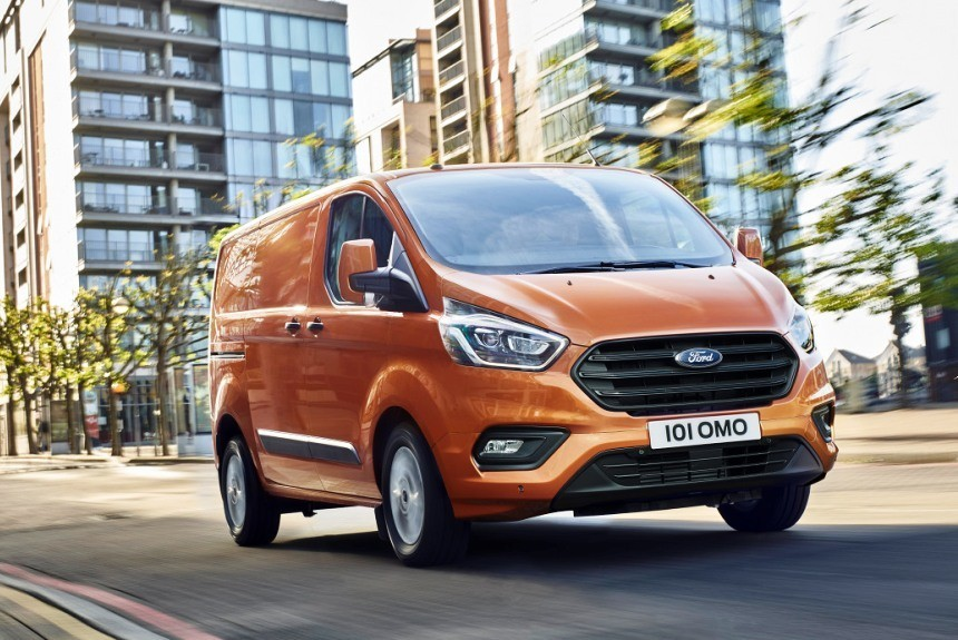 Новый Ford Transit Custom: на ограничителе!