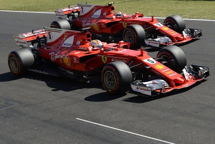 Феттель одержал победу Гран-при Венгрии «Формулы-1»