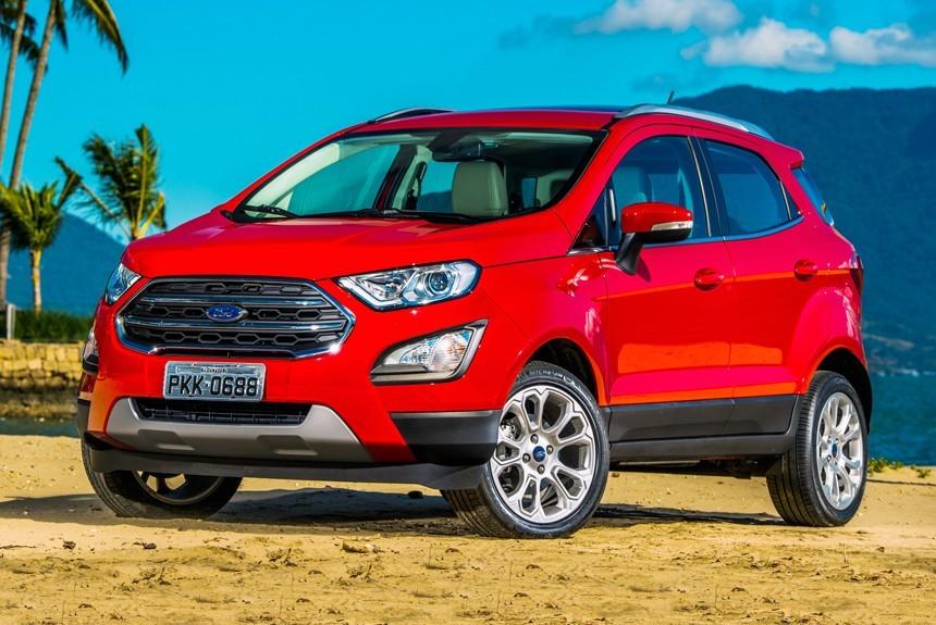 Рестайлинговый Ford EcoSport: в Россию через Бразилию