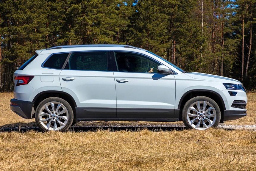 Новый Шкода Karoq может получить шильдик VW