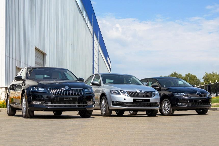 Фольксваген отзывает в Российской Федерации неменее 3 тыс. авто Шкода