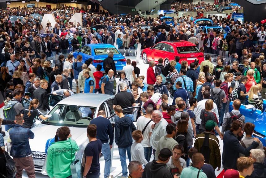 Девять автоконцернов отказались принимать участие в автосалоне воФранкфурте class=