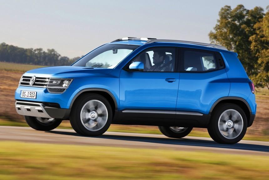 Компания VW будет работать над проектом субкомпактного кроссовера