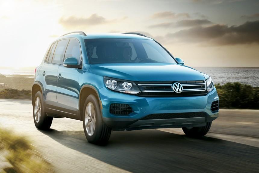 Старый VW Tiguan остался встрою сприставкой Limited